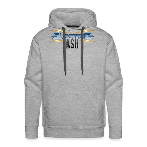 Electric Ash Logo - Main - Transparent Background - Men's Premium Hoodie