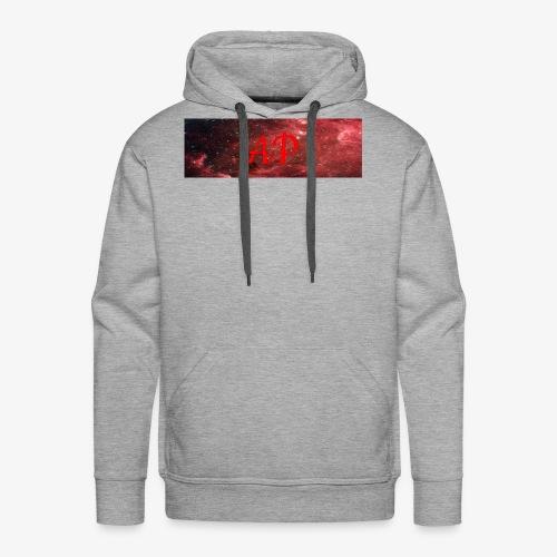 Almost Pro (Red Galaxy) - Men's Premium Hoodie