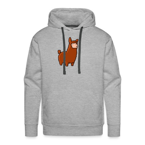 The lama - Men's Premium Hoodie