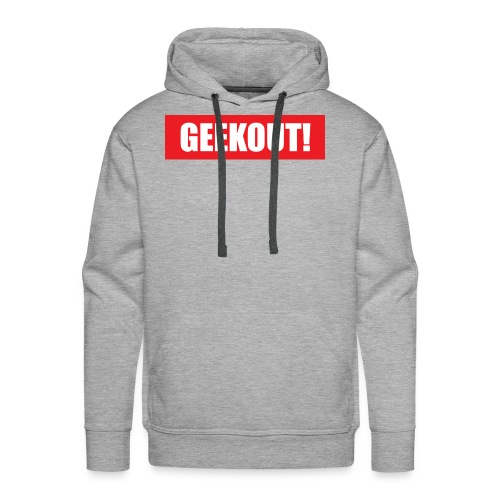 Geekout Gaming Apparel Branded Tee - Men's Premium Hoodie