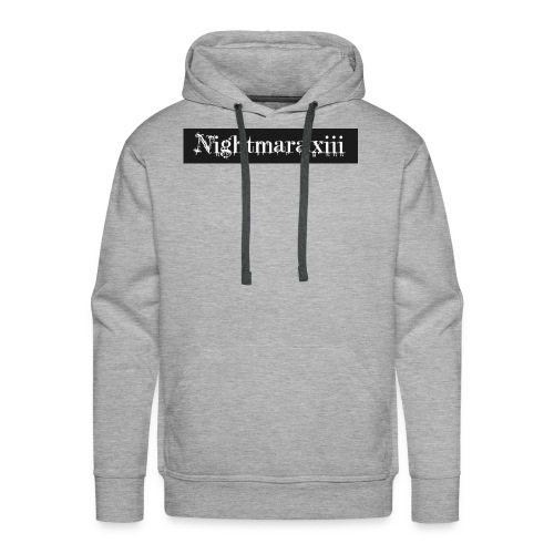 Nightmara logo written - Men's Premium Hoodie