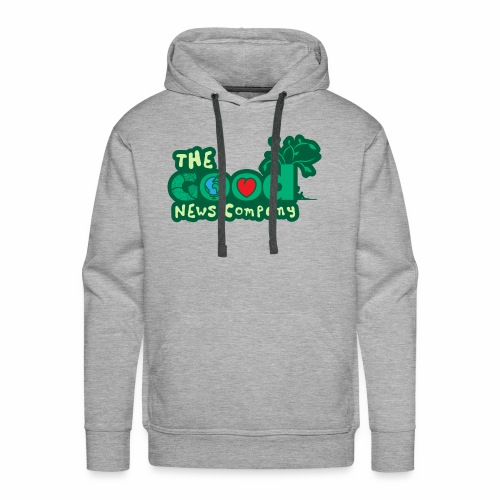 The GOOD News logo - Men's Premium Hoodie