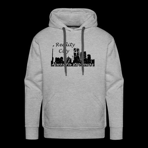 Reality City - light - Men's Premium Hoodie