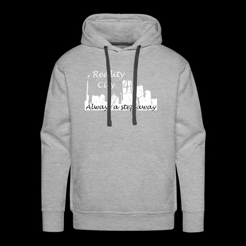 Reality City - Dark - Men's Premium Hoodie
