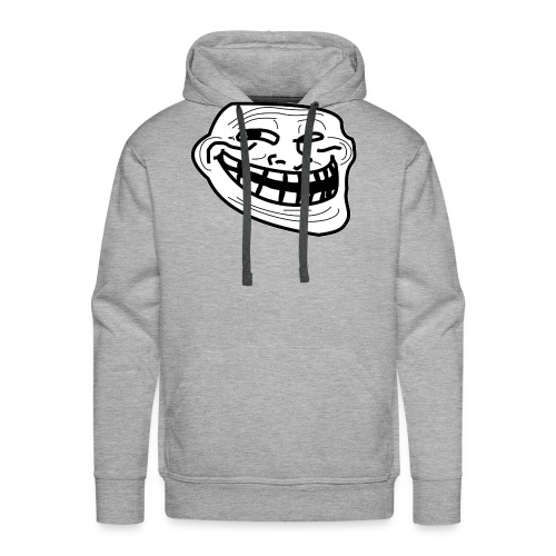 Troll Face short sleeved shirt - Men's Premium Hoodie