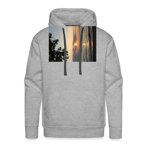 Beach Sunset - Men's Premium Hoodie