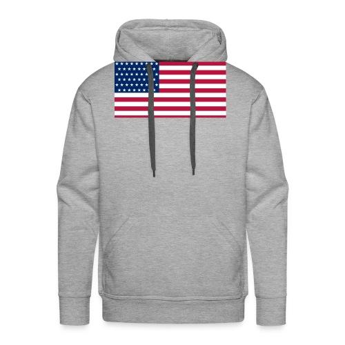 usa flag - Men's Premium Hoodie