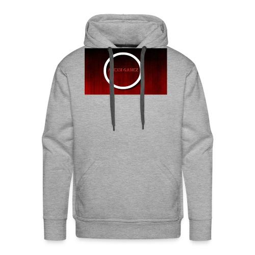 Red Emblem with Name - Men's Premium Hoodie