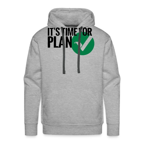 Time for Plan V(ertcoin) - Men's Premium Hoodie