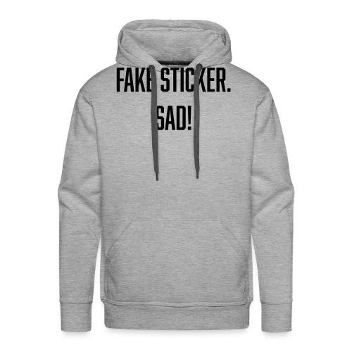 fake sticker - Men's Premium Hoodie