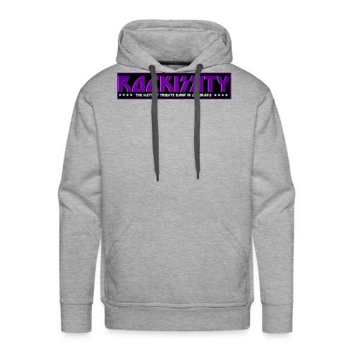 ROCKISSITY the Black Light Logo - Men's Premium Hoodie