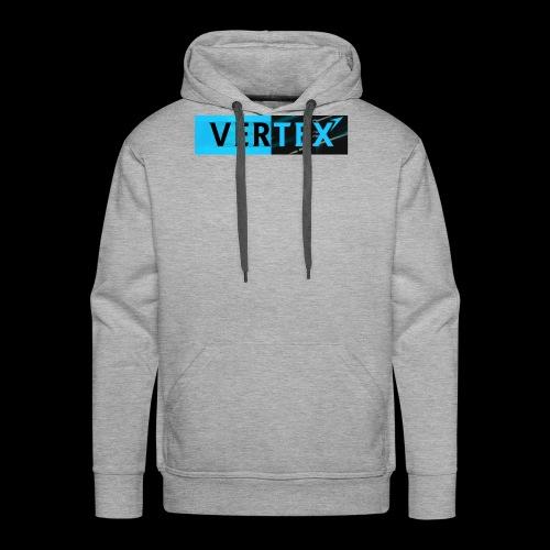 Vertex Window Box Style - Men's Premium Hoodie