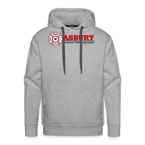 AsburyVFD Logo - Men's Premium Hoodie