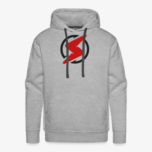 Red and black - Men's Premium Hoodie