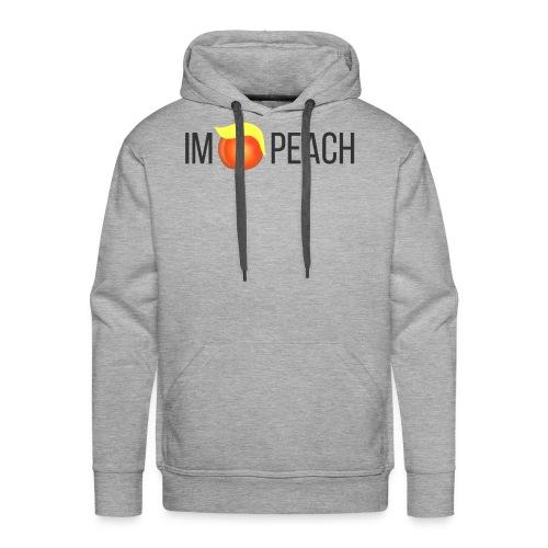 IMPEACH / BLACK - Men's Premium Hoodie