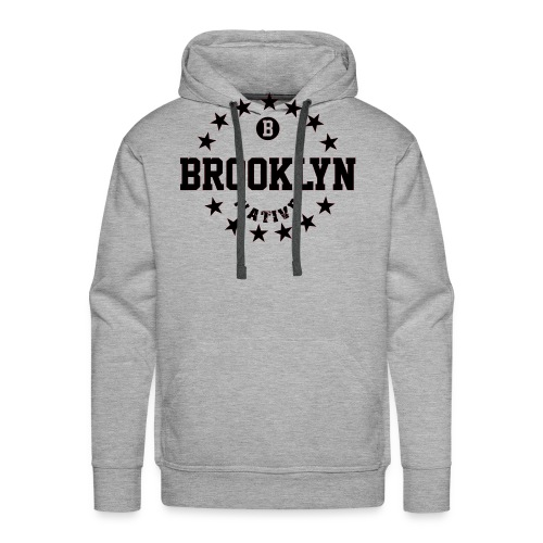 BROOLYN_NATIVE_REPLACE - Men's Premium Hoodie