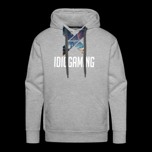 IDIGGAMING Tshirt - Men's Premium Hoodie
