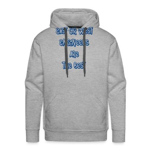 engineers blue - Men's Premium Hoodie