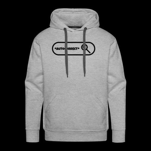 AUTOCORRECT - Men's Premium Hoodie