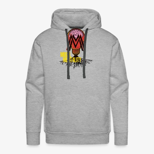 Mogul Mentality Color Logo - Men's Premium Hoodie