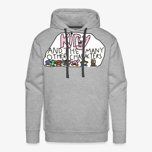 Kirby and the many other characters - Men's Premium Hoodie