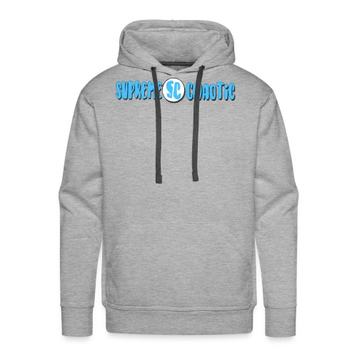 Supreme Chaotic Full Logo - Men's Premium Hoodie