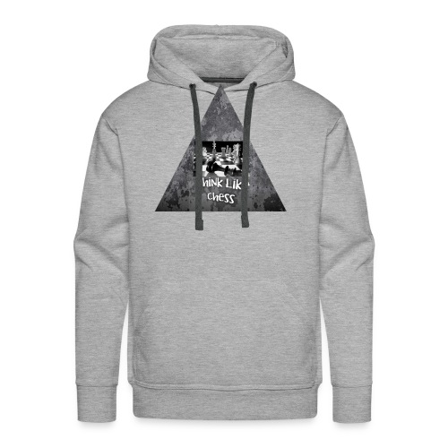 Think Like Chess Logo - Men's Premium Hoodie