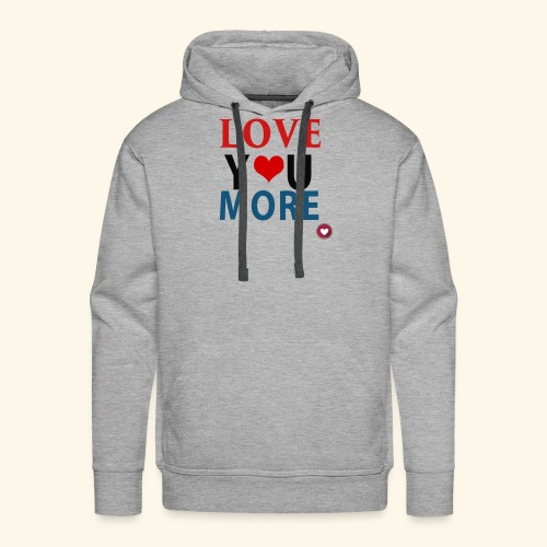 Loveyoumore - Men's Premium Hoodie