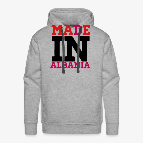 MADE IN ALBANIA - Men's Premium Hoodie