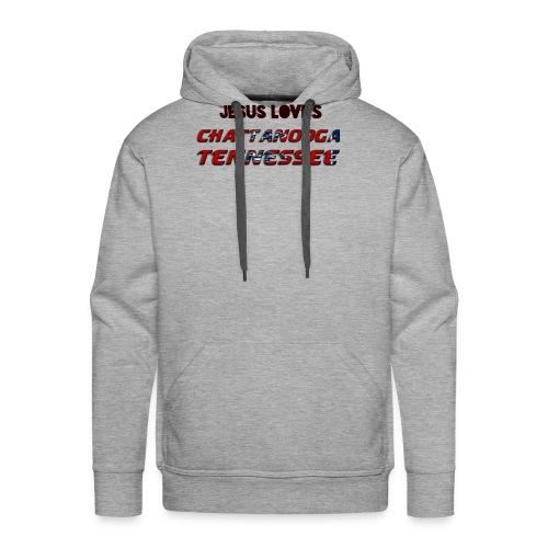 Jesus Loves Chattanooga Tennessee - Men's Premium Hoodie