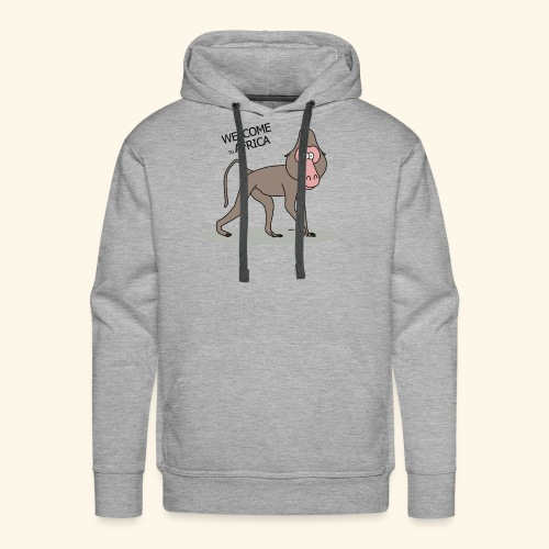 Travel to Africa - Men's Premium Hoodie