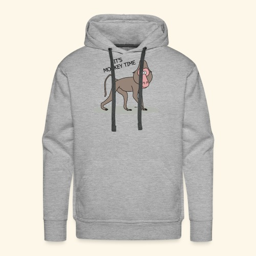 It's Monkey Time - Men's Premium Hoodie