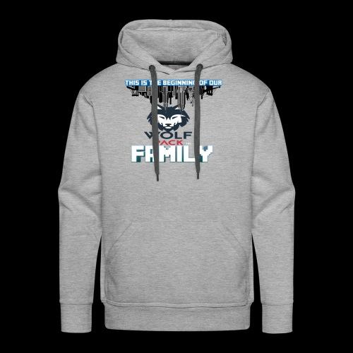 We Are Linked As One Big WolfPack Family - Men's Premium Hoodie