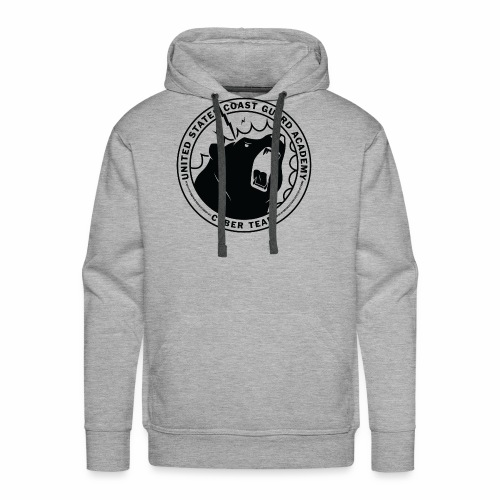Black Cybear Logo - Men's Premium Hoodie