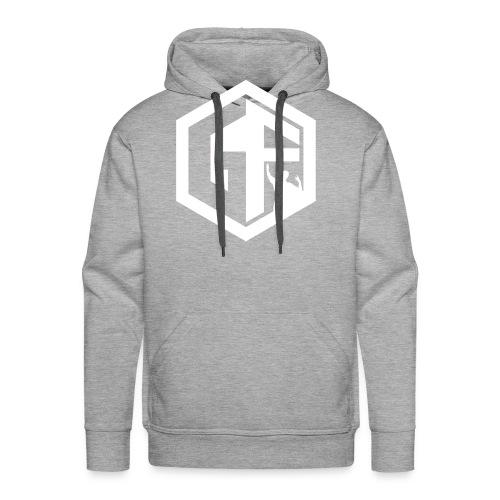 GF Logo Whitek - Men's Premium Hoodie
