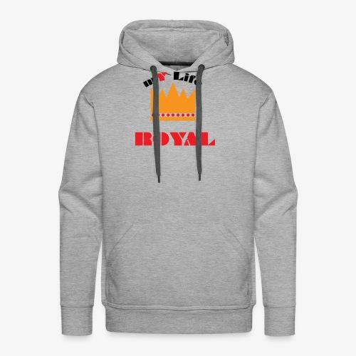 mYLifeROYAL - Men's Premium Hoodie