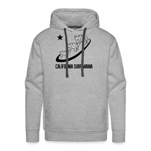 California Surf Mama - Men's Premium Hoodie