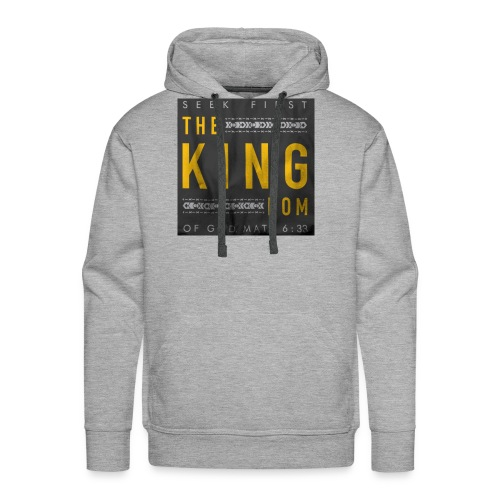 Seek The Kingdom - Men's Premium Hoodie