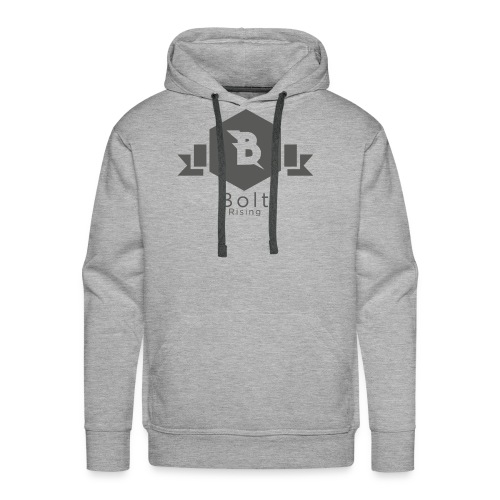 Bolt Rising Small Badge - Men's Premium Hoodie