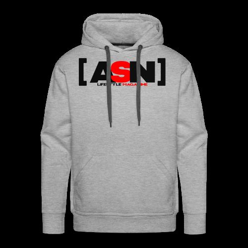 ASN Lifestyle Magazine Logo - Men's Premium Hoodie
