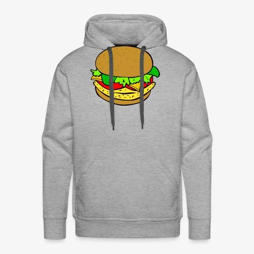 Comic Burger - Men's Premium Hoodie
