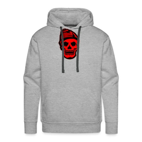 RED Skeleton HaHaHaHa - Men's Premium Hoodie