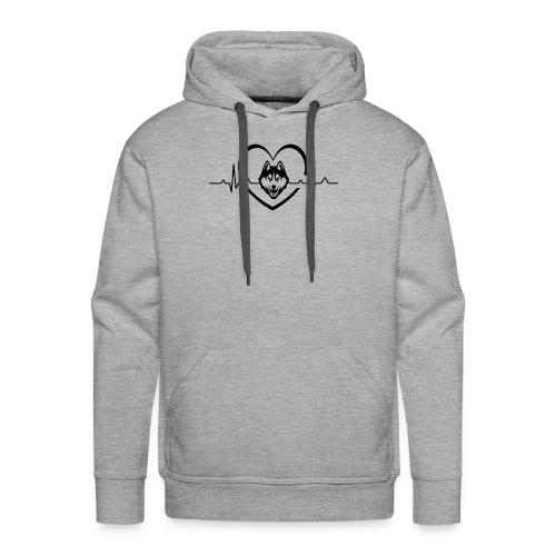 Love every beat for Husky T-Shirt - Men's Premium Hoodie