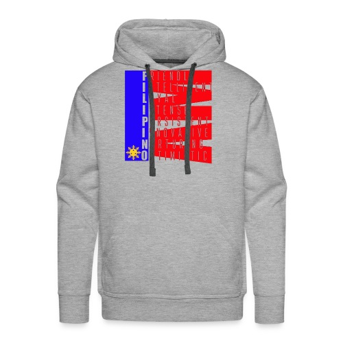 I AM FILIPINO colored - Men's Premium Hoodie