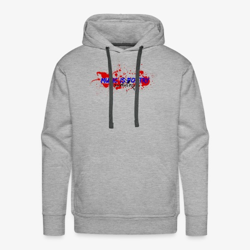 Music Is Poetry - Men's Premium Hoodie
