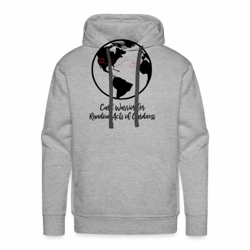 Globe - Card Warrior for Random Acts of Cardness - Men's Premium Hoodie