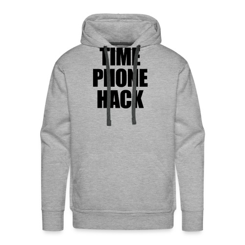 Time Phone Hack - Men's Premium Hoodie