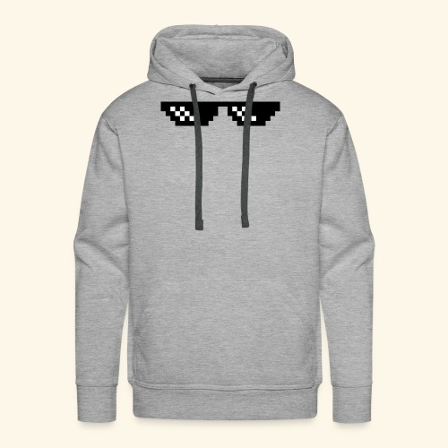 Deal With It Sunglasses- cool - Men's Premium Hoodie