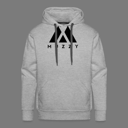 MUZZY Offical Logo Black - Men's Premium Hoodie