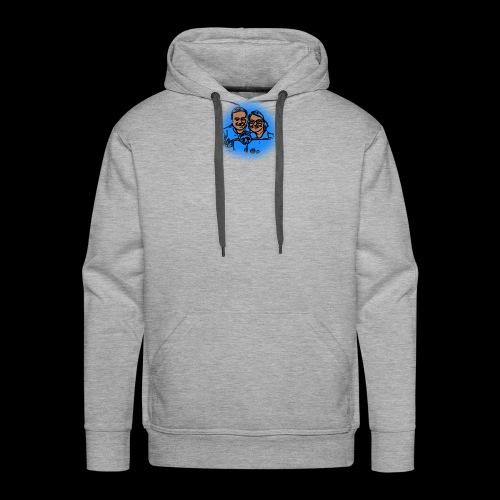 Smaller No Text Logo - Men's Premium Hoodie